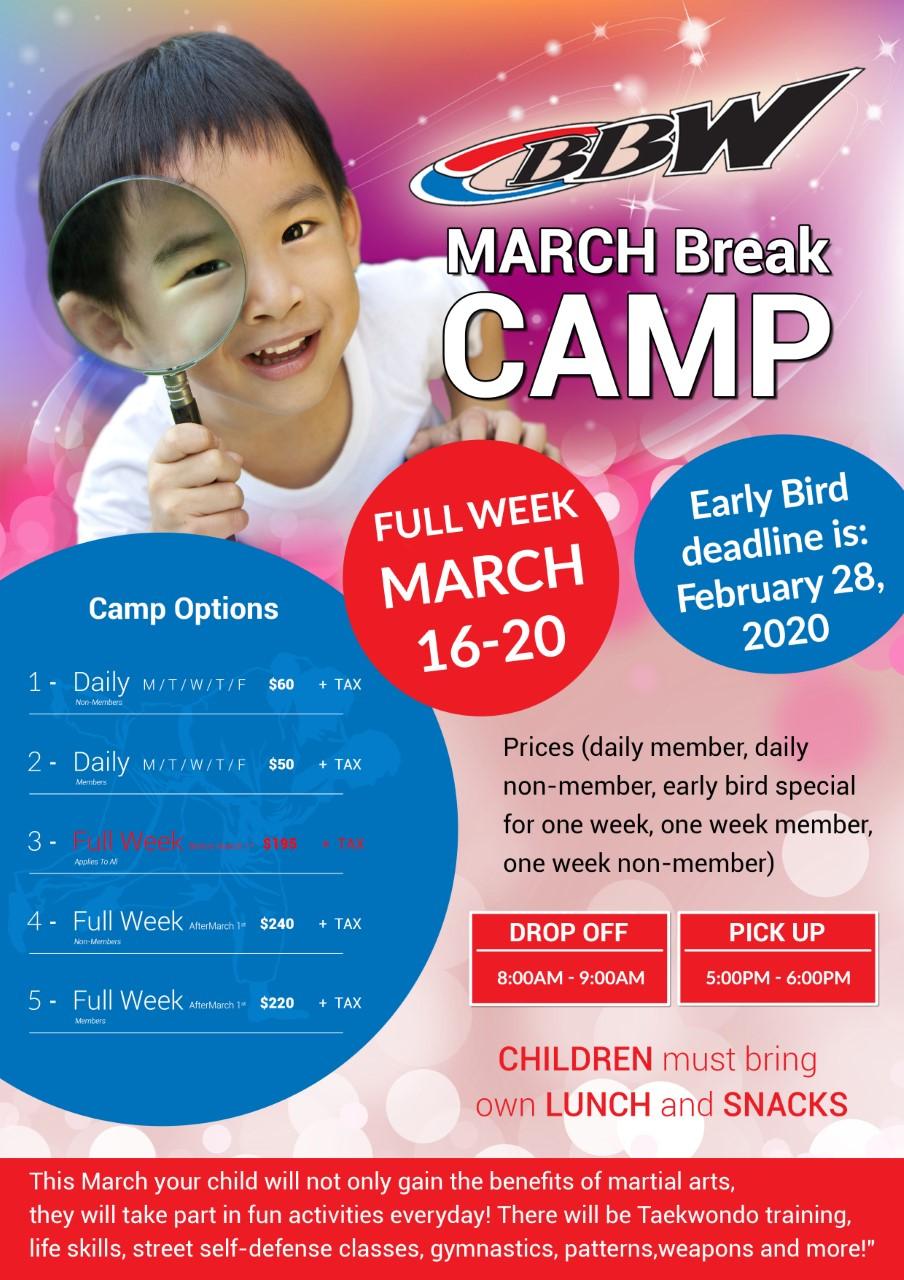 March Break Poster 2020