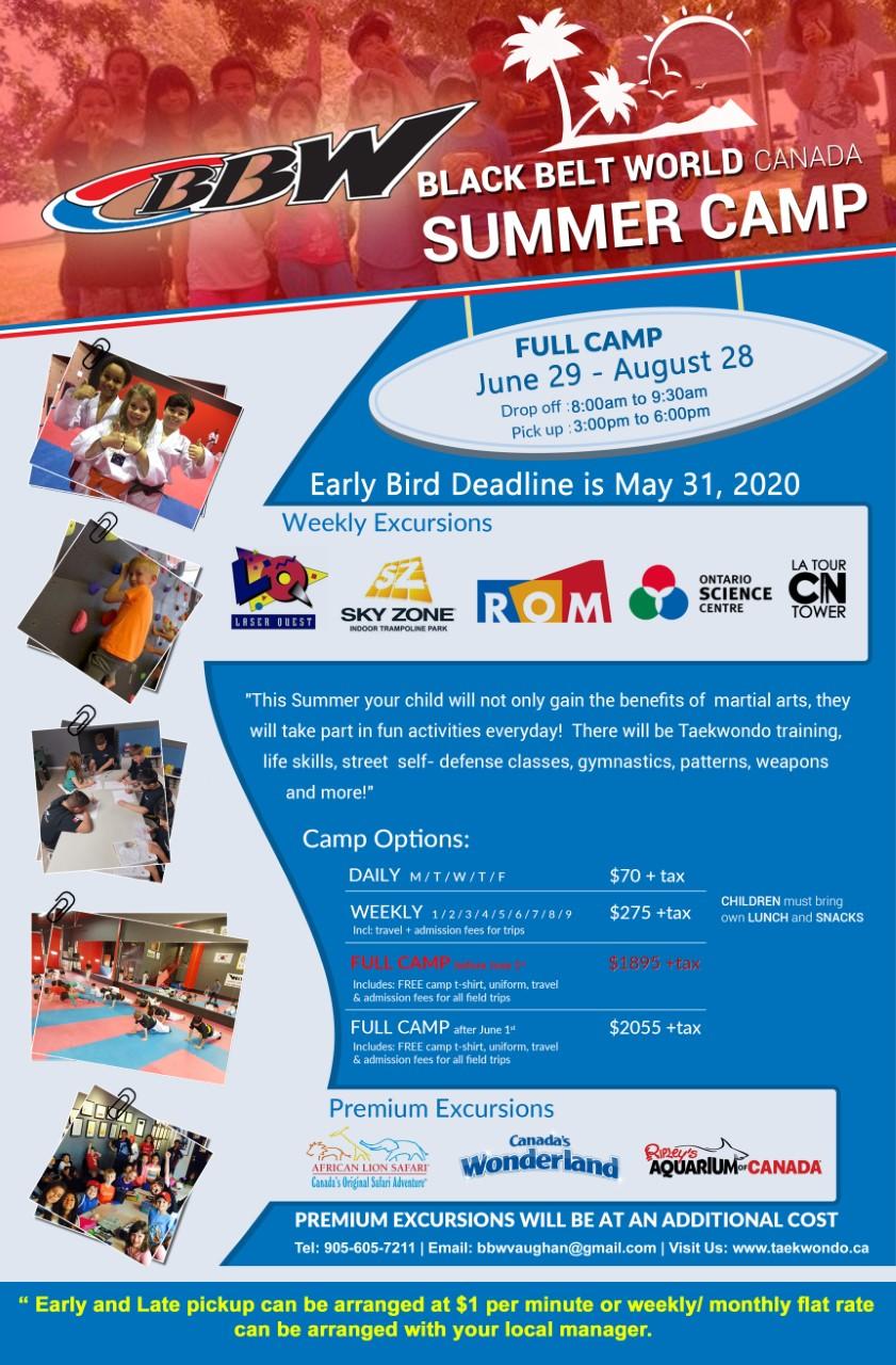 Summer Camp 2020 Poster